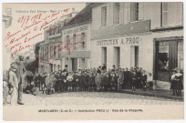 MONTLHERY. - Institution Prou, rue de la Chapelle. Edition Seine-et-Oise artistique et pittoresque, collection Paul Allorge, 1918.
