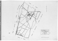 BALLAINVILLIERS .- Cadastre révisé pour 1935 : plan du tableau d'assemblage , plans de la section A les Grands Champs 1ère feuille, idem 2ème feuille, section B le Village, section C le Poirier Cadard , section D Villebouzin, [6 plans].