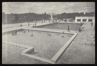 DOURDAN. - Piscine de Dourdan. Photo Aussal.