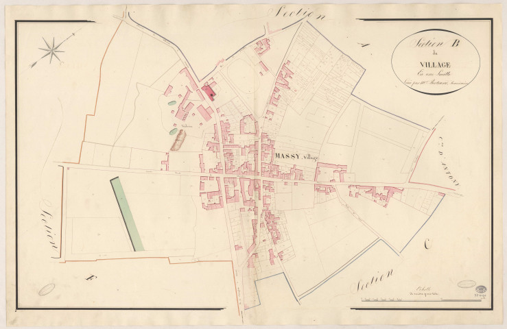 MASSY. - Section B : Village (le).
